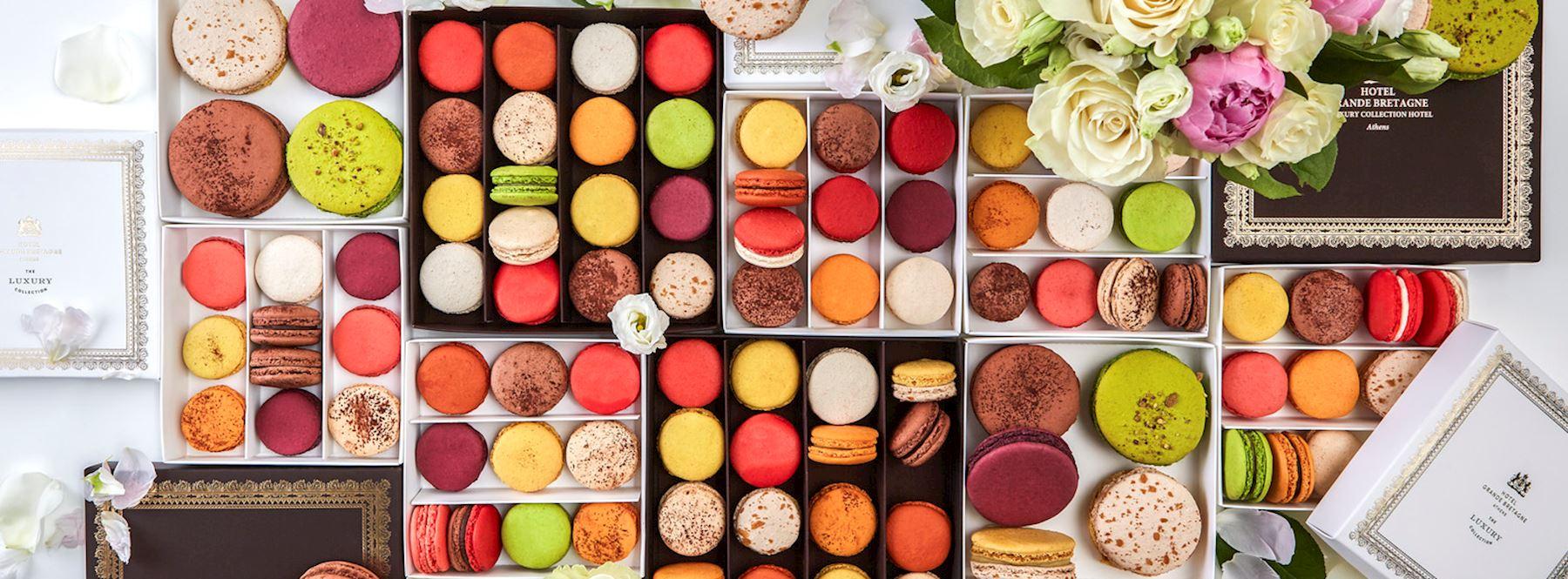 Macaron Flavors by Arnaud